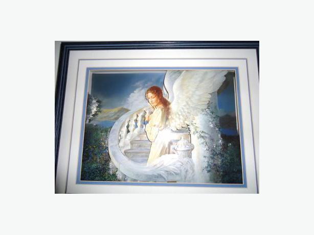 Angel Artwork 3-Dimensional Paper Sculpture Art Painting