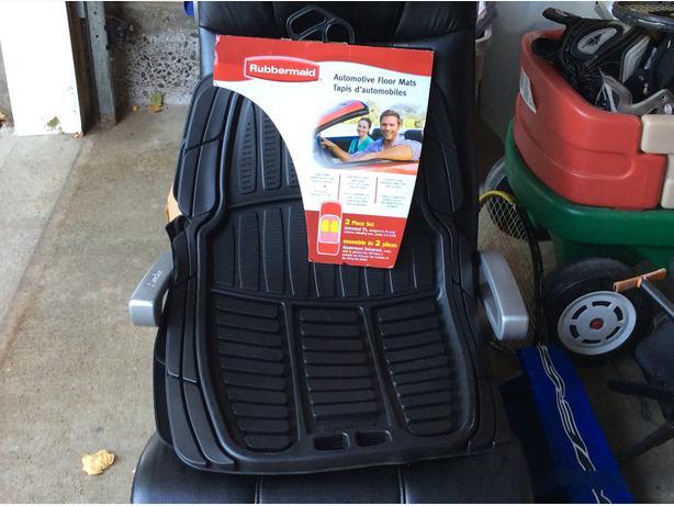 2 piece rubbermaid automotive floor mats set gloucester, ottawa