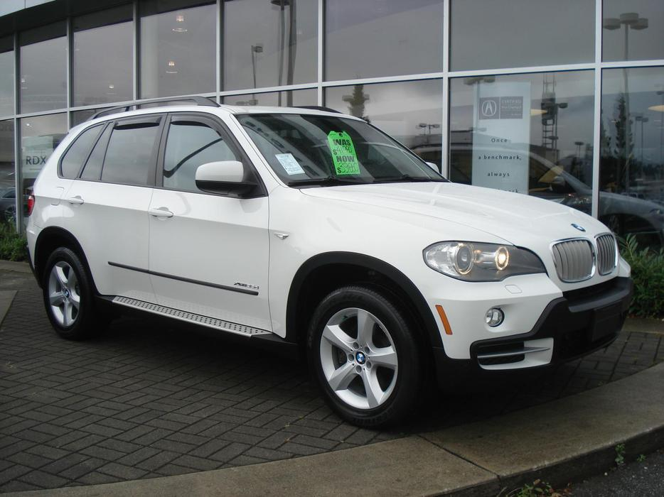 2009 bmw x5 35d xdrive 7 passenger diesel suv outside. Black Bedroom Furniture Sets. Home Design Ideas