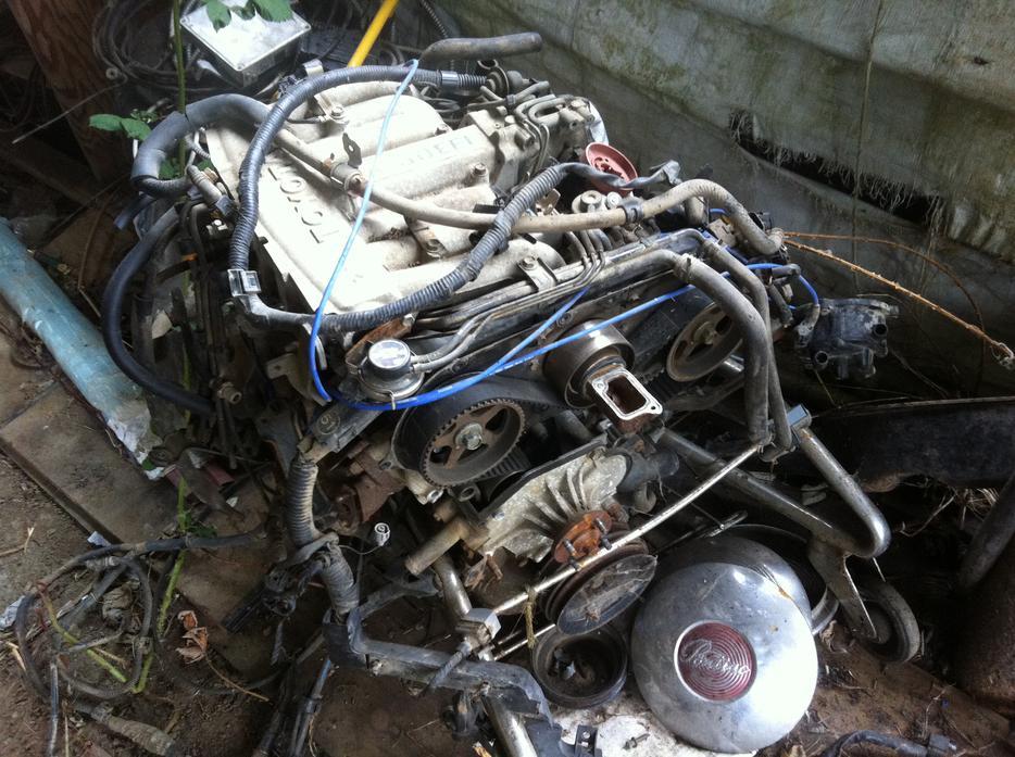 Salmon Arm Toyota >> Toyota V6 3.0 EFI engine and drivetrain Central Saanich ...