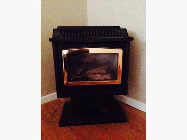 REDUCED PRICE - OSBURN gas fireplace Oak Bay, Victoria