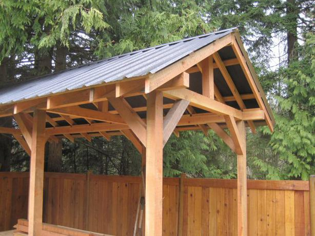 Post and beam wood shed plans free 8 x 10 gambrel shed plans for Post and beam shed plans