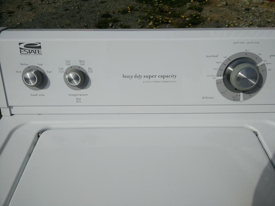 Estate Whirlpool Washing Machine Central Saanich Victoria