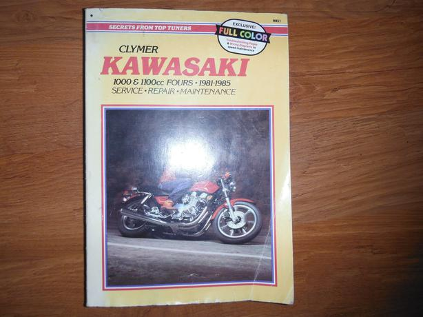kawasaki 1000 1100cc fours 1981 1985 service manual kz1000 kz1100 central nanaimo nanaimo. Black Bedroom Furniture Sets. Home Design Ideas