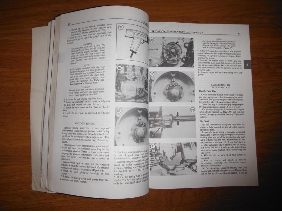 kawasaki 1000 1100cc fours 1981 1985 service manual. Black Bedroom Furniture Sets. Home Design Ideas