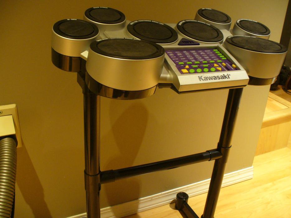 Kawasaki Electronic Drum Set