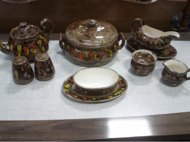 Retro Ceramic Serving Set