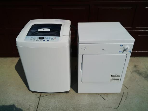 portable lg washing machine and ge dryer washer hooks up to kitchen