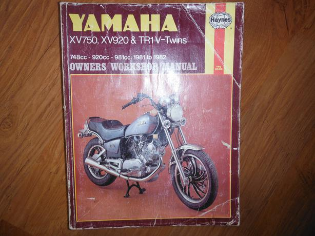 Used Tires Winnipeg >> Yamaha XV 750, 920 & TR1 V-Twins Virago 1981 1982 Service ...
