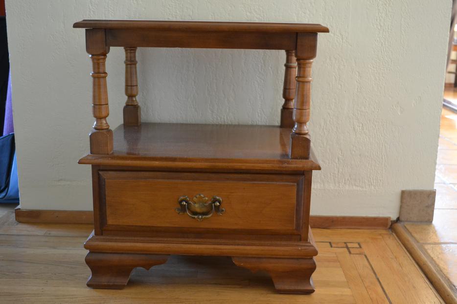 Solid vilas maple bedroom furniture for sale Saanich Victoria