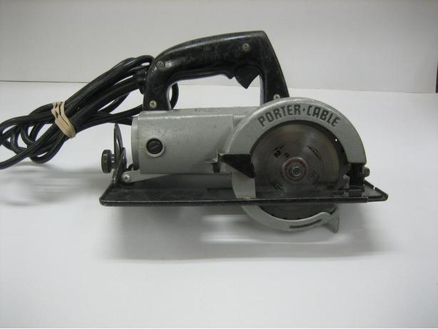"Porter Cable 4.5"" trim saw"