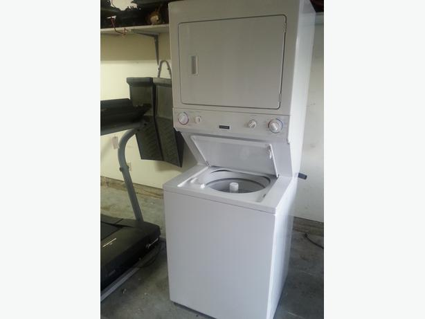 Frigidaire Stacking Washer And Dryer Outside Victoria
