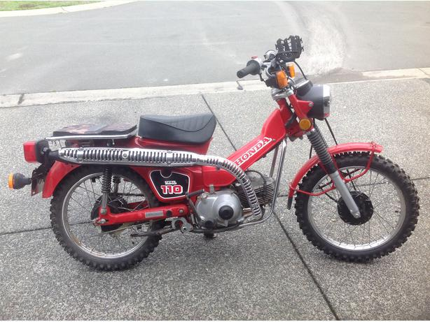 1986 Honda 110 Trail Bike Campbell River  Comox Valley
