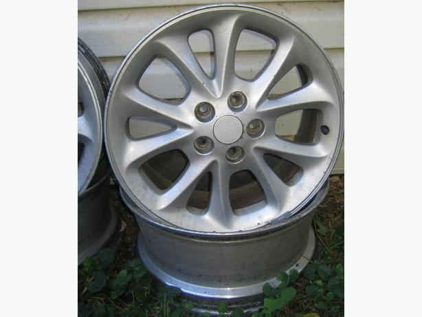 17'' Chrysler aluminum rims
