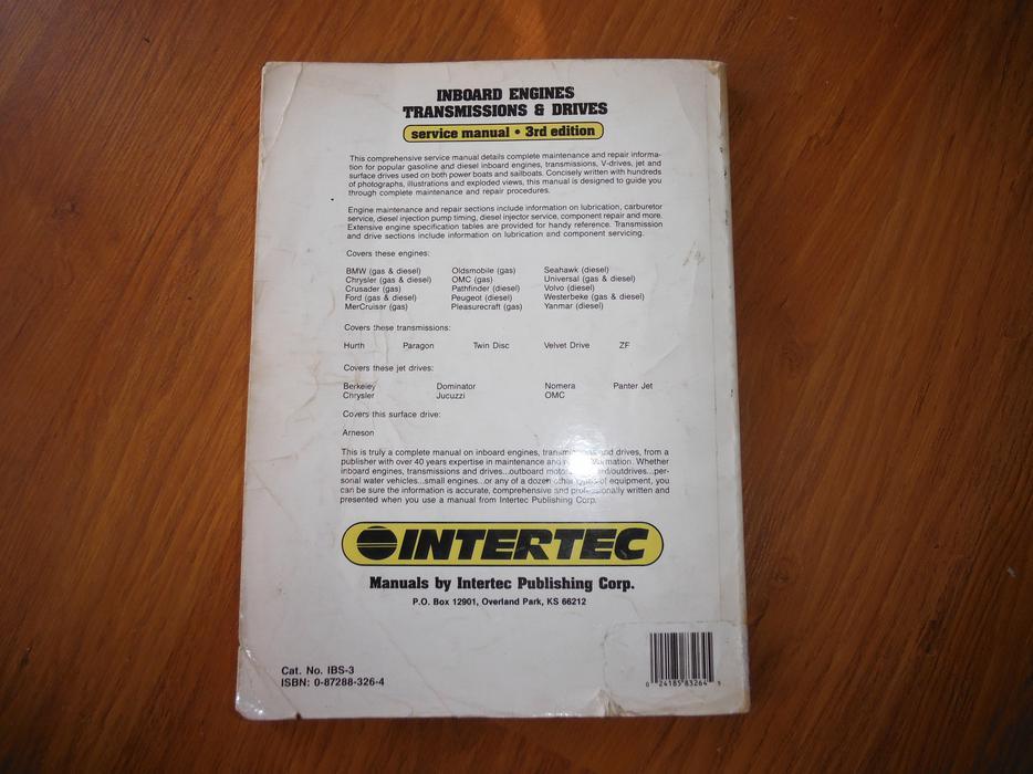 inboard engine  transmission  u0026 drive repair manual bmw