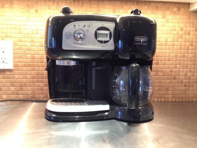 Delonghi BCO264B Cafe Nero Combo Coffee and Espresso Maker Saanich, Victoria - MOBILE