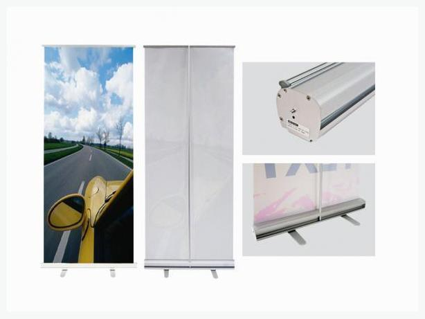 "Econo Retractable Banner Stands 24', 31.5"" 33"", 36"" Wide Models"