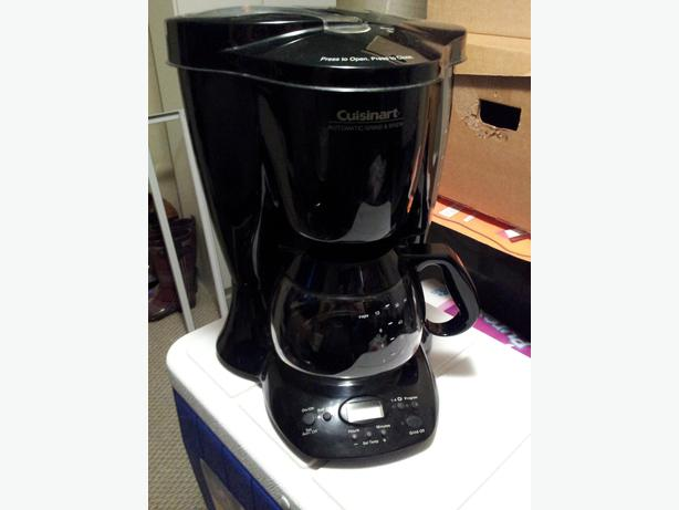 Cuisinart grind and brew coffee maker Saanich, Victoria