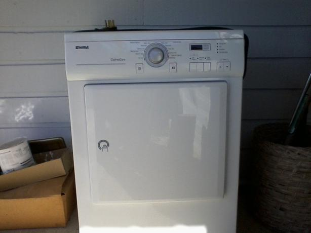 kenmore apartment size dryer outside comox valley