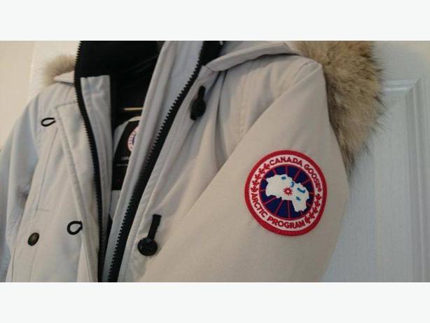 Canada Goose expedition parka replica shop - Canada Goose Med Ladies Kensington Silverbirch Grey Gray Parka ...