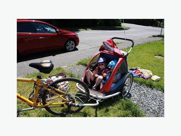 Mec Two Seat Bike Trailer Esquimalt View Royal Victoria