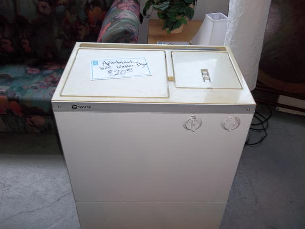we have an older working maytag washer and dryer for sale at the st