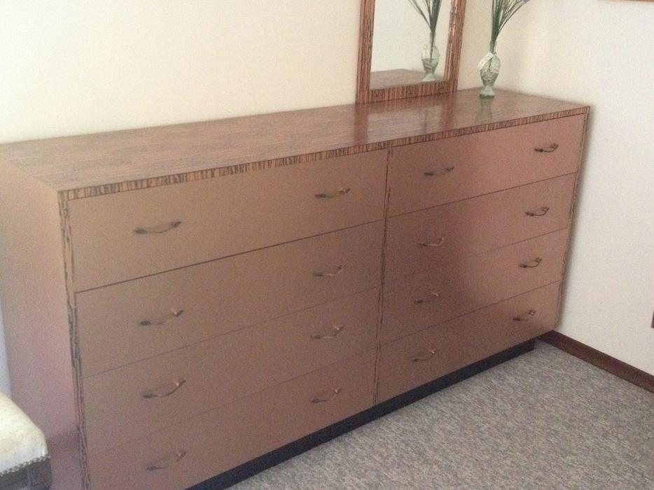 Large Custom Made Dresser With Matching Headboard Saanich