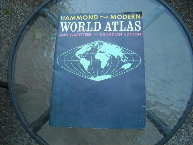 VINTAGE WORLD ATLAS