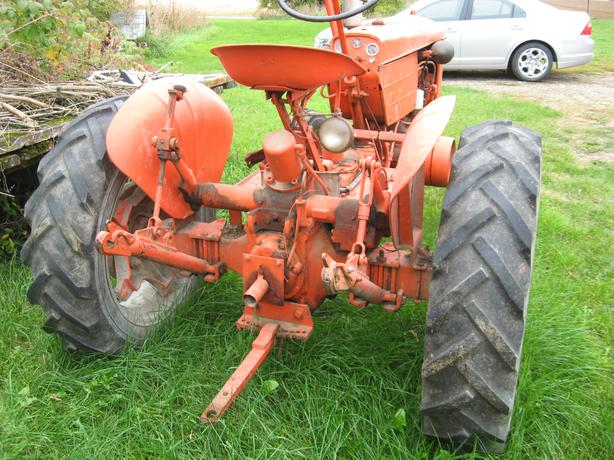 1952 Case Va Tractor With Case Eagle Hitch Pto And Belt