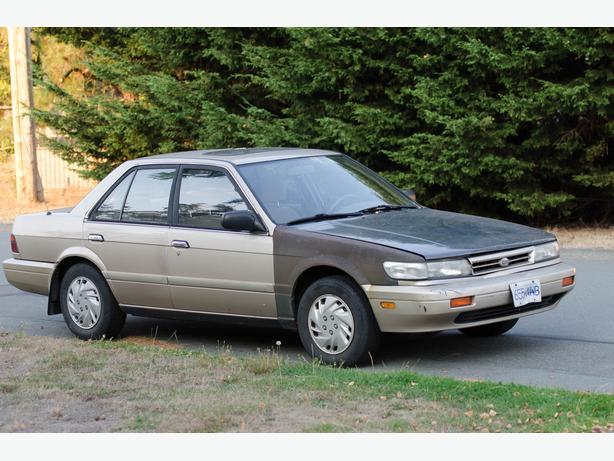 1990 Nissan Stanza Standard North Saanich Amp Sidney Victoria