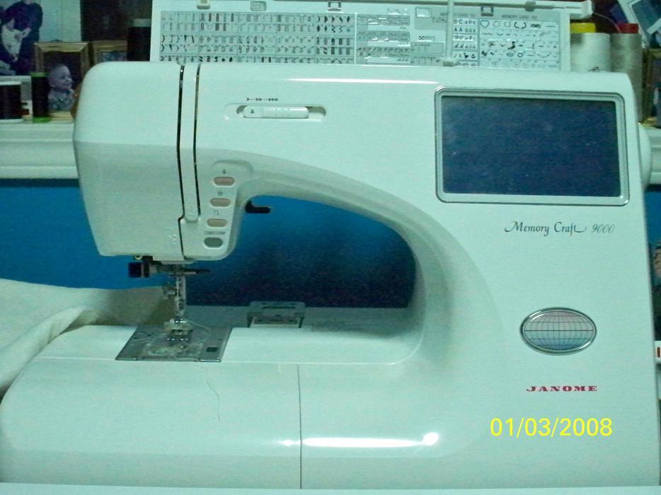 Janome memory craft 9000 pkg port alberni alberni for Janome memory craft 9000 problems