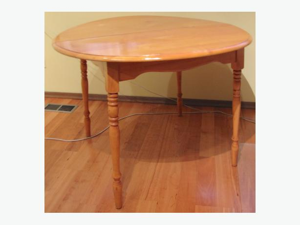Kitchen Dining Room Table Solid Rock Maple North Saanich Sidney