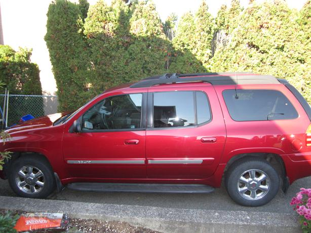 2003 gmc envoy xl slt outside comox valley courtenay comox. Black Bedroom Furniture Sets. Home Design Ideas