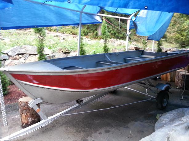14ft Aluminum Boat And Trailer Malahat Including Shawnigan Lake Mill Bay Victoria