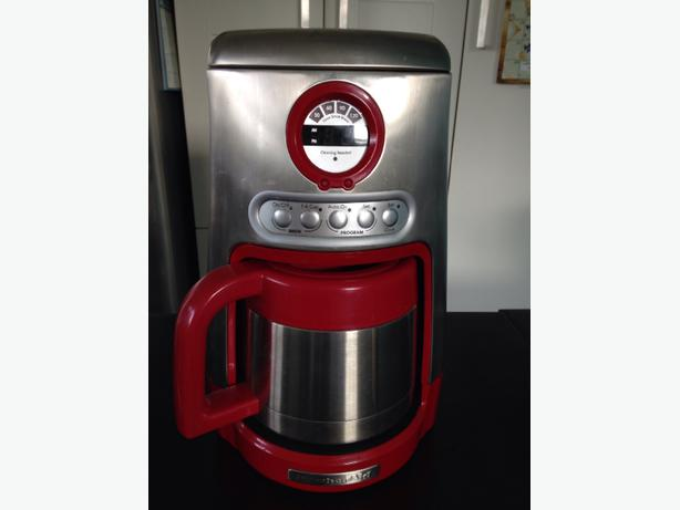Kitchenaid Coffee Maker How To Use : red kitchenaid coffee maker Saanich, Victoria