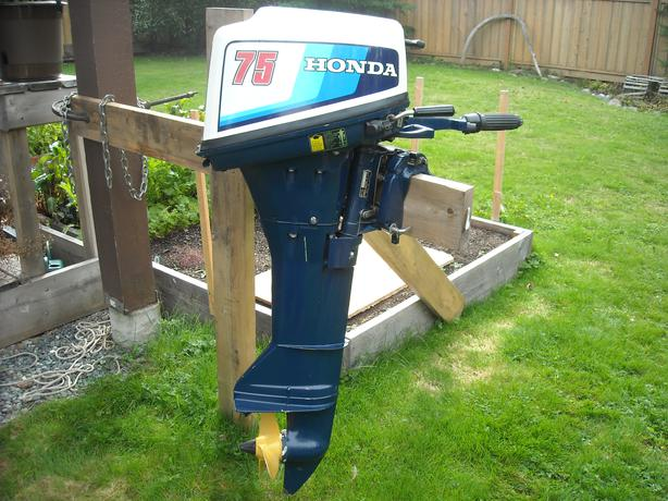 7 5 honda outboard motor courtenay courtenay comox for Honda outboard motors for sale used
