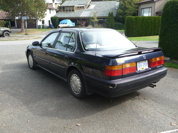 1990 honda accord exr for sale saanich victoria mobile for How many miles does a honda accord last