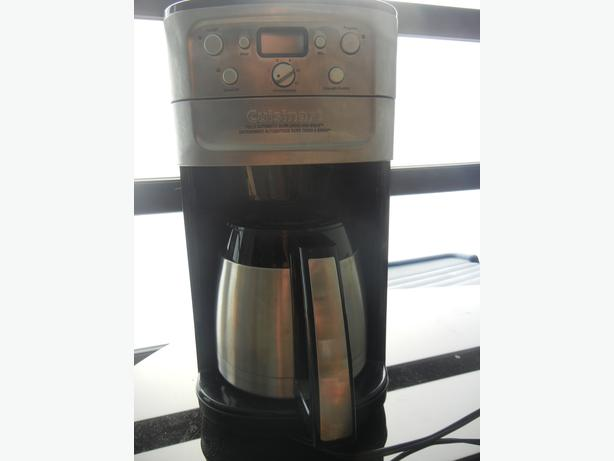 Cuisinart Coffee Maker Fully Automatic Burr Grind And Brew Instructions : Cuisinart Fully Automatic Burr Grind & Brew Esquimalt & View Royal, Victoria