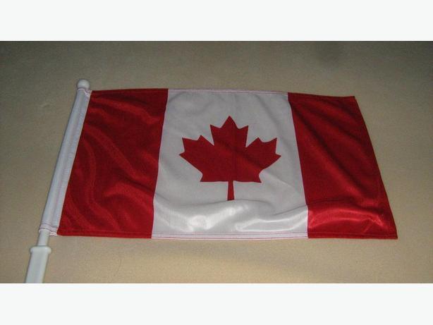 CANADA  CAR  WINDOW  FLAGS
