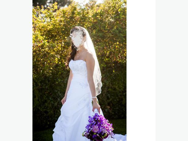 Wedding Dress Alterations Halifax : Beautiful mori lee wedding dress size victoria city
