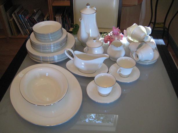 Wedgewood bone china Silver Ermine