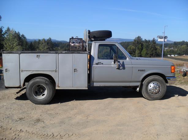 1988 Ford Welding Truck Malahat Including Shawnigan Lake