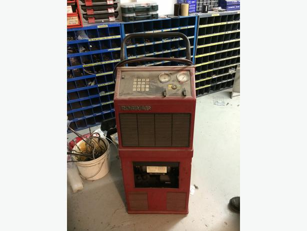 used robinair a c machine for sale