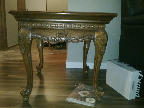 3 Matching Victorian Style Walnut Coffee And End Table Set East Regina Regina