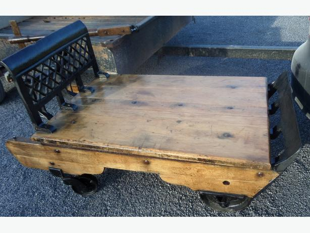 Antique Original Renfrew Grain Scale Coffee Table Outside ...