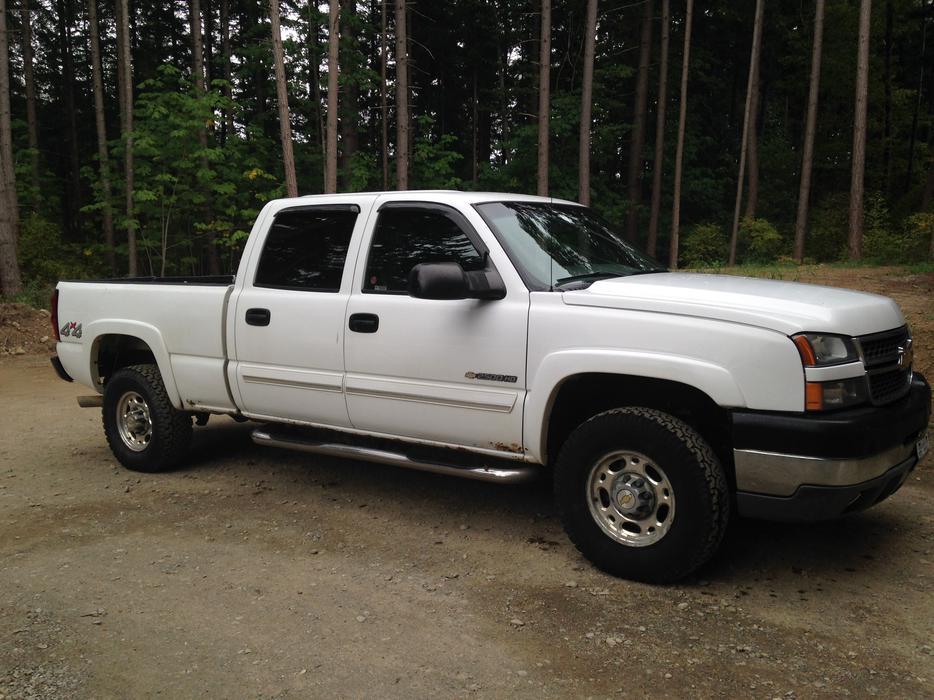 Chevrolet Silverado 2500hd Gatineau >> 2005 Chevrolet Silverado 2500HD Comox, Comox Valley