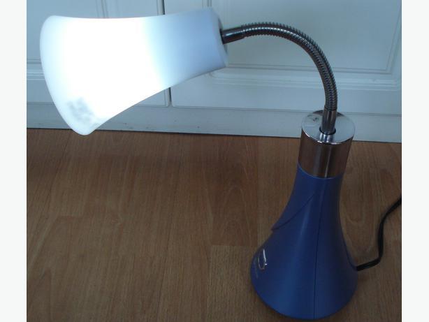 OttLite Tulip Desk Lamp blue Saanich Victoria – Tulip Desk Lamp