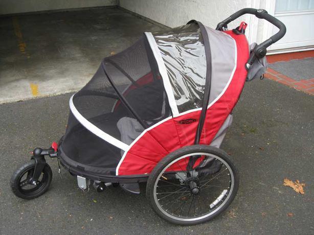 InStep Joyrider Children's 2-Seat Double Bicycle Trailer ...