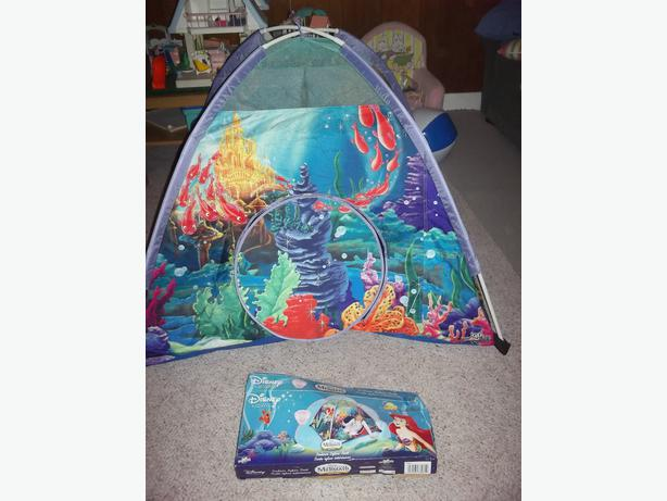 Disneyu0027s Ariel The Little Mermaid Igloo Tent & Disneyu0026#39;s Ariel The Little Mermaid Igloo Tent Saanich Victoria