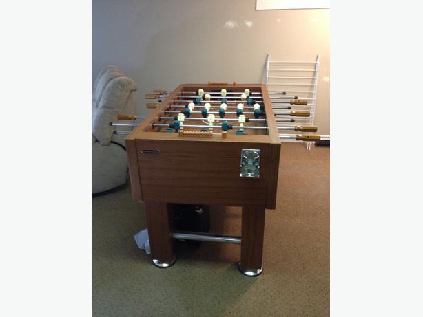 Harvard Wooden Foosball Table